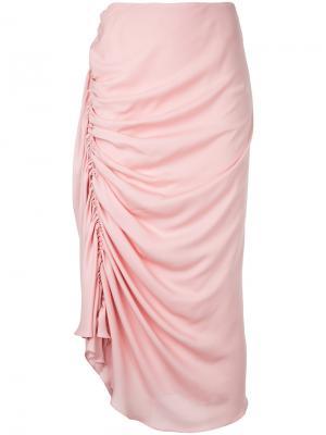 Юбка Artemis Bianca Spender. Цвет: розовый и фиолетовый
