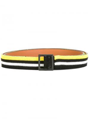 Striped belt Ermanno Scervino. Цвет: чёрный