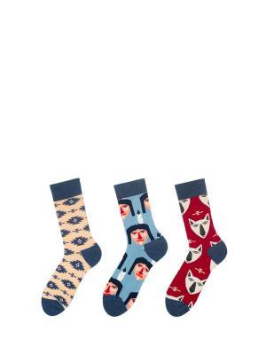 Носки Sammy Icon. Цвет: синий, красный, розовый