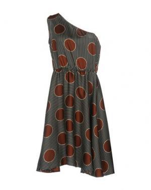Платье до колена SOUVENIR. Цвет: черный