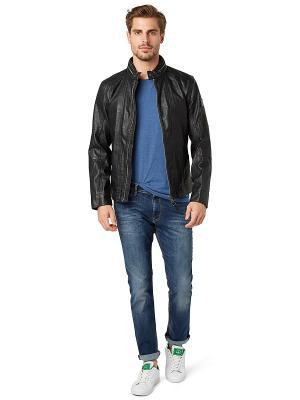 Куртка TOM TAILOR. Цвет: черный