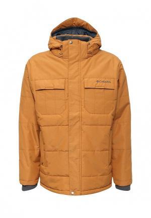 Куртка утепленная Columbia. Цвет: желтый