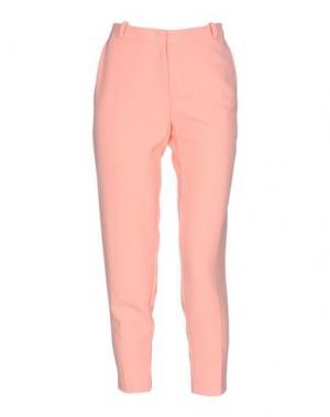 Брюки-капри ANNARITA N.. Цвет: лососево-розовый