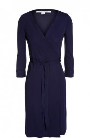 Платье джерси Diane Von Furstenberg. Цвет: темно-синий