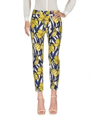 Повседневные брюки BEATRICE. Цвет: желтый