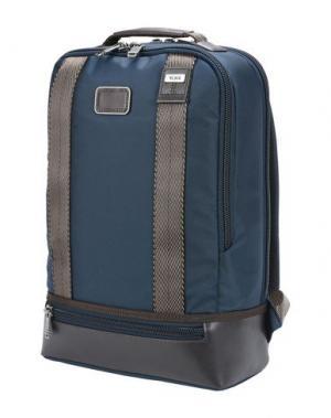 Рюкзаки и сумки на пояс TUMI. Цвет: темно-синий