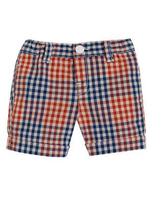 Шорты CHICCO. Цвет: оранжевый, синий