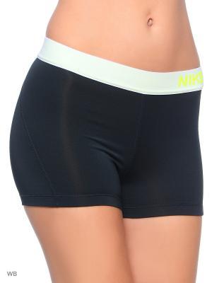 Шорты NP CL 3 SHORT Nike. Цвет: черный, салатовый, желтый