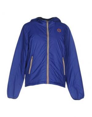 Куртка GABARDINE. Цвет: синий