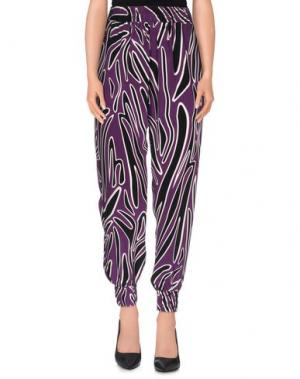 Повседневные брюки MOTHER OF PEARL. Цвет: фиолетовый