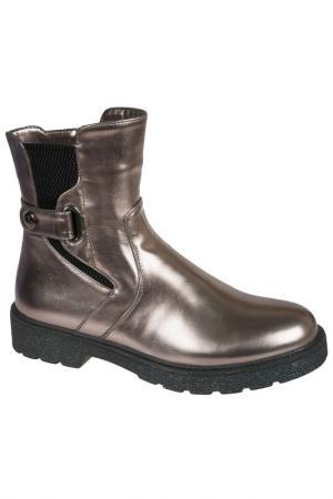 Ботинки MURSU. Цвет: бронзовый