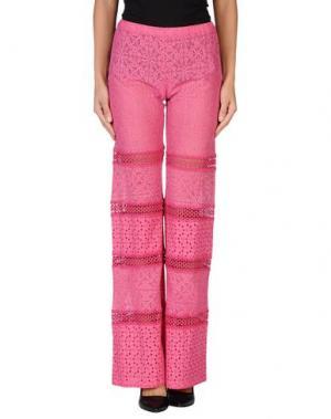 Повседневные брюки TEMPTATION. Цвет: фуксия