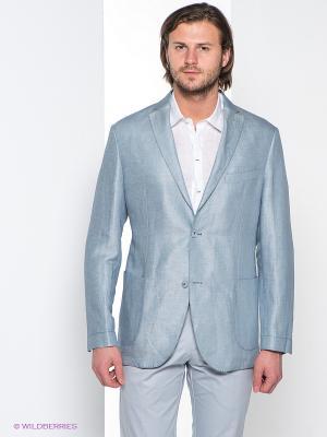 Пиджак MONDIGO. Цвет: голубой