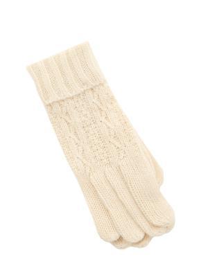 Перчатки Baon. Цвет: белый