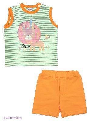 Комплект одежды Yallo Kids. Цвет: оранжевый