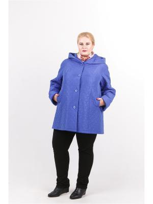 Куртка Trevery. Цвет: голубой