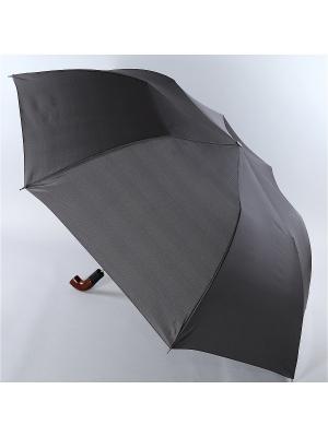 Зонт Trust. Цвет: серый, серо-коричневый