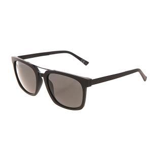 Очки  Plimpton Black Satin/Grey Von Zipper. Цвет: черный