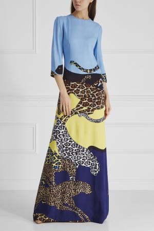 Платье Alexander Terekhov. Цвет: multicolor