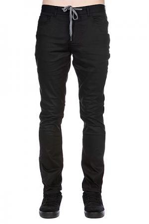 Джинсы  Runway Model Slimstraight Black Enjoi. Цвет: черный
