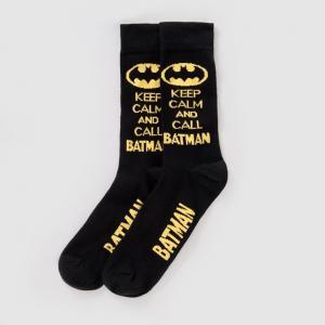 Носки BATMAN. Цвет: черный/ желтый