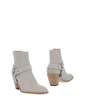 Полусапоги и высокие ботинки FREE LANCE. Цвет: бежевый