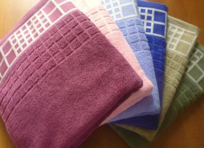 Махровое полотенце 50*90 см Sunvim