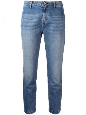 Укороченные джинсы Nili Lotan. Цвет: синий