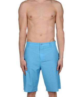Пляжные брюки и шорты RIPCURL. Цвет: лазурный