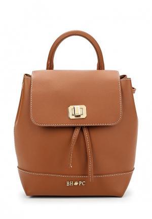Рюкзак Beverly Hills Polo Club. Цвет: коричневый
