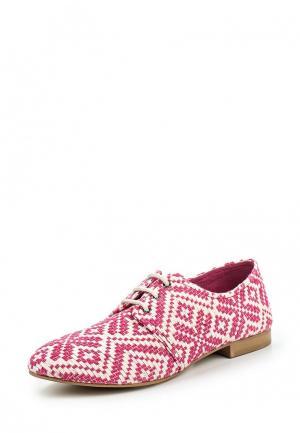 Ботинки United Colors of Benetton. Цвет: розовый
