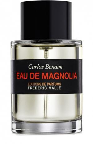 Туалетная вода Eau De Magnolia Frederic Malle. Цвет: бесцветный