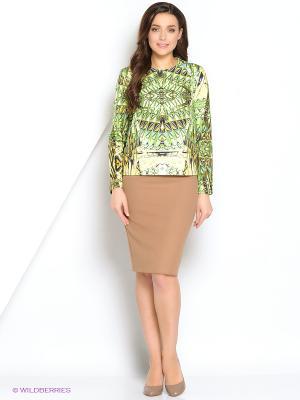 Кофта Культ платья BRACEGIRDLE. Цвет: зеленый
