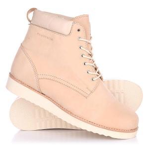 Ботинки зимние женские  Teana Classic Beige Rheinberger. Цвет: бежевый