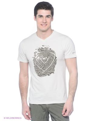 Футболка M Fingerprint T-Shirt ecru Northland Professional. Цвет: молочный