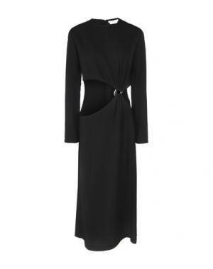 Платье длиной 3/4 EDUN. Цвет: черный
