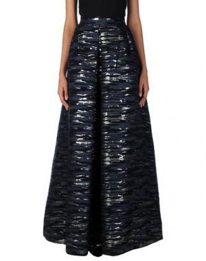Длинная юбка MARTIN GRANT. Цвет: темно-синий
