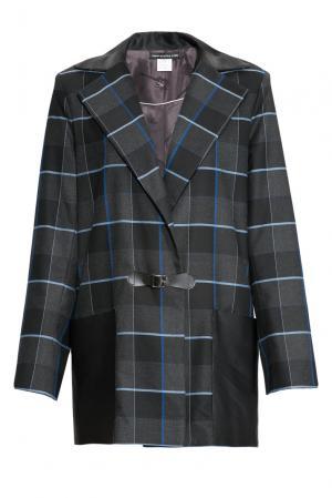 Пальто 153737 Msw Atelier. Цвет: разноцветный
