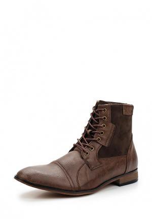 Ботинки Galax. Цвет: коричневый