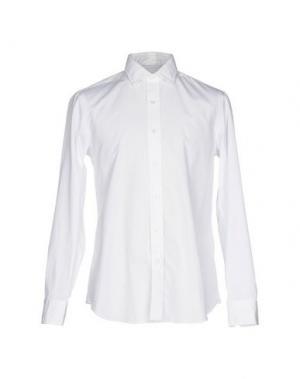 Pубашка SALVATORE PICCOLO. Цвет: белый