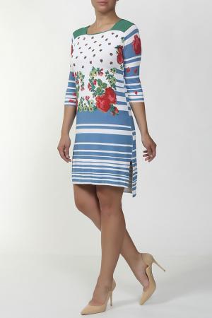 Платье Antonio Marras. Цвет: белый, принт