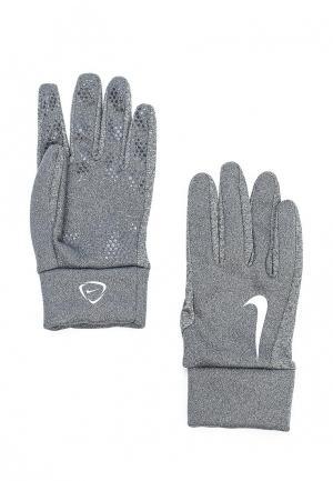 Перчатки вратарские Nike. Цвет: серый