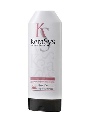Шампунь для волос  Восстанавливающий 200г Kerasys. Цвет: белый, розовый