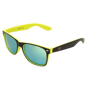 Очки  Sunglasses Black/Yellow Nomad. Цвет: черный,желтый