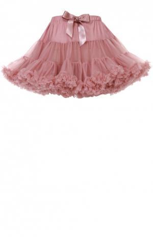 Пышная юбка с бантом Angel's Face. Цвет: розовый