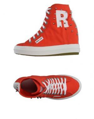 Высокие кеды и кроссовки RUCO LINE. Цвет: оранжевый