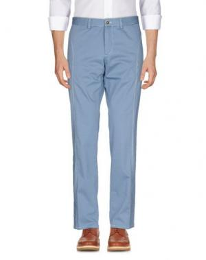 Повседневные брюки PIATTO. Цвет: лазурный