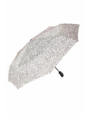 Зонт Mitya Veselkov. Цвет: серый, черный