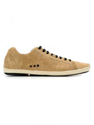 Lace-up sneakers Osklen. Цвет: коричневый