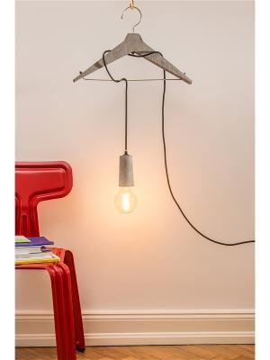 Лампа Louis Beton Donkey. Цвет: черный, серый